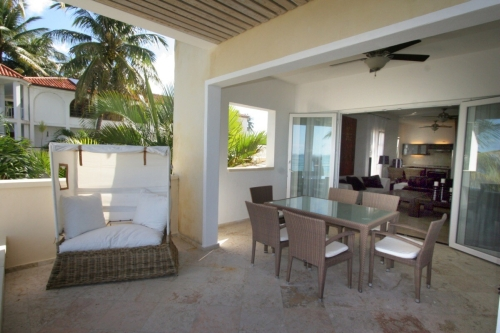 Luxury Beach front Apartment with 3 bedrooms in Cabarete