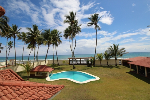 Beautifully designed beachfront Villa just outside Cabarete
